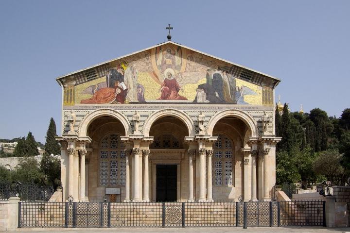 耶路撒冷萬國教堂。(圖:維基百科)