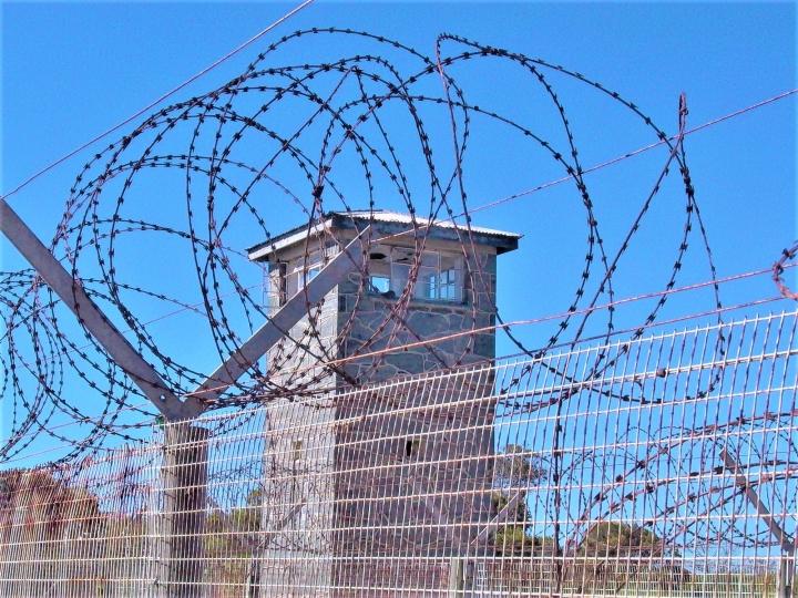 南非在羅本島監獄。(圖:FreeImage)