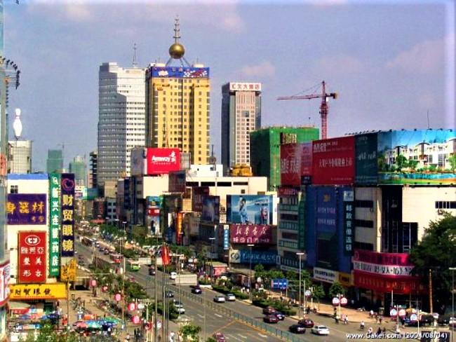 石家莊市。(圖:維基百科)