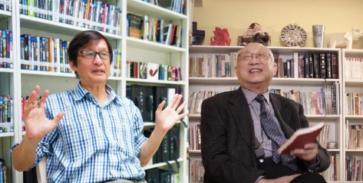 梁永泰院長[左]、麥希真牧師[右](圖:基督日報/麥希真牧師視頻擷圖)