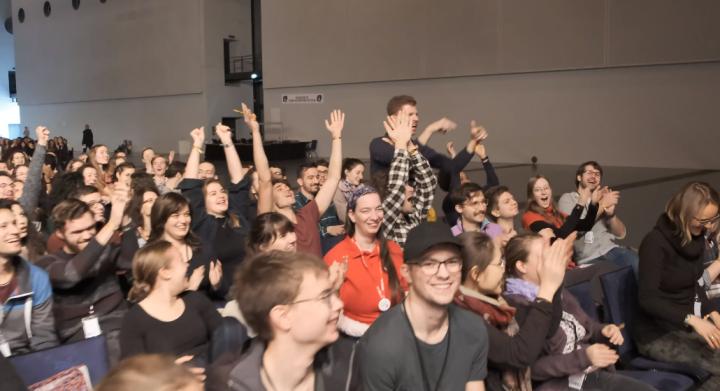 國際福音學生團契[歐洲] 2019年的「歐洲復興」聚會。(圖: IFES)