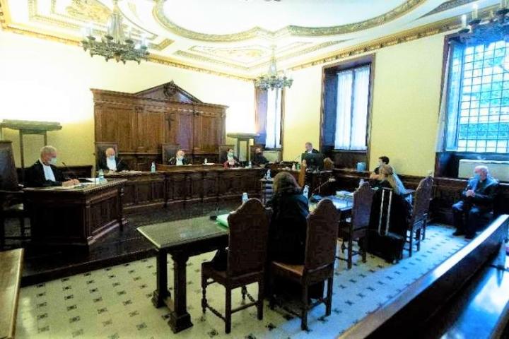 聖庇護十世學院性侵案去年10月4日進行首次聆訊。(圖:梵蒂岡新聞)