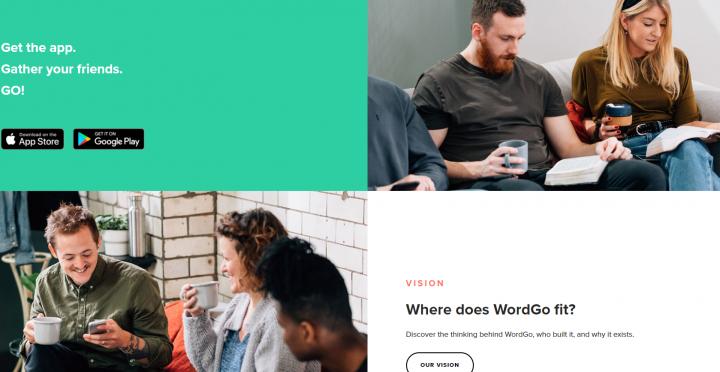 WordGo聖經學習計劃。(圖: WordGo 網頁)