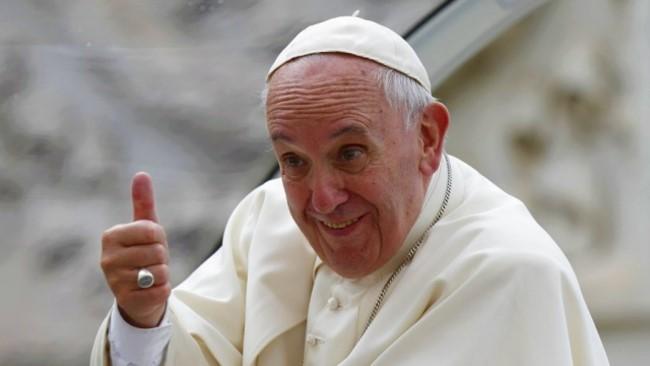 教宗方濟各。(圖:梵蒂岡電台)