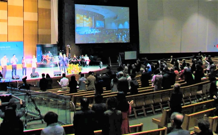 韓國中央長老教會。(圖:教會臉書)