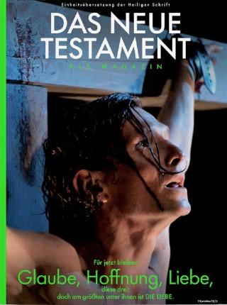 《聖經》雜誌封面。 (圖:Bibel Als Magazin 網站)