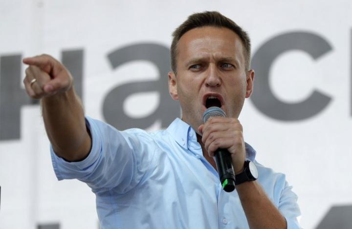 俄羅斯反對派領袖納瓦爾尼。(圖:網絡圖片)
