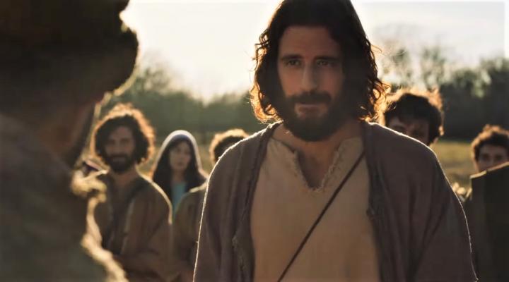 飾演耶穌的魯米因演出生命被改變。(圖:視頻擷圖)