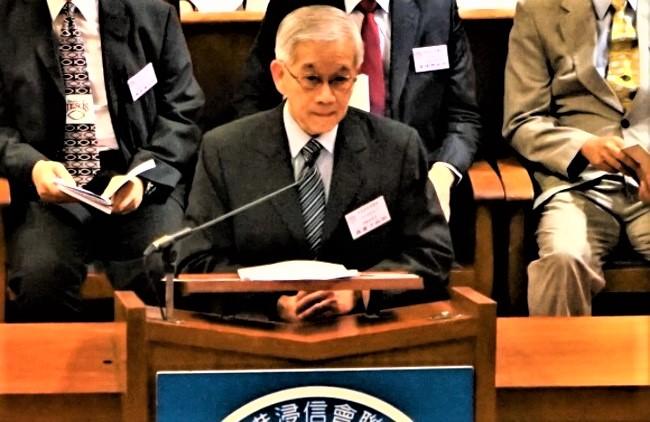 羅慶才在2019年浸聯會38屆培靈大會講道。(圖:基督日報)