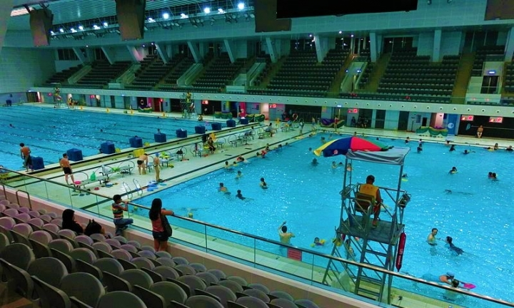 維多利亞公園泳池。(圖:維基百科)