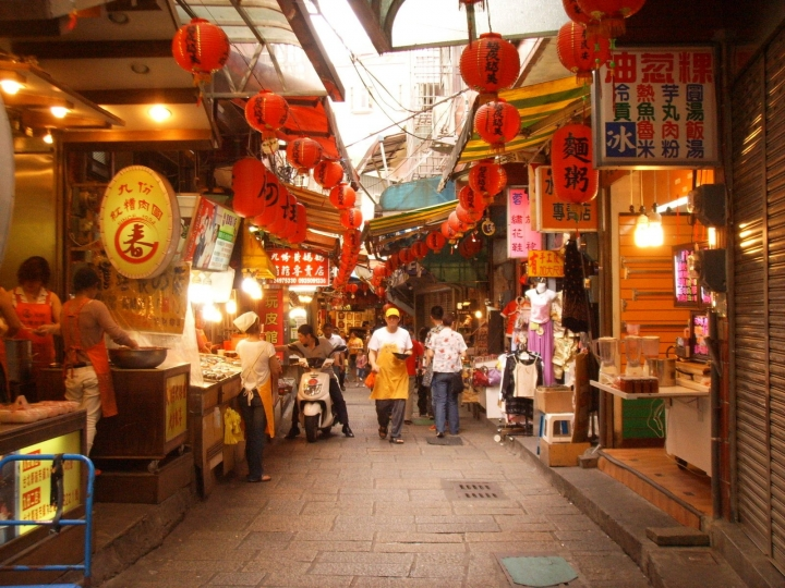 台灣街景。(圖:FreeImage)