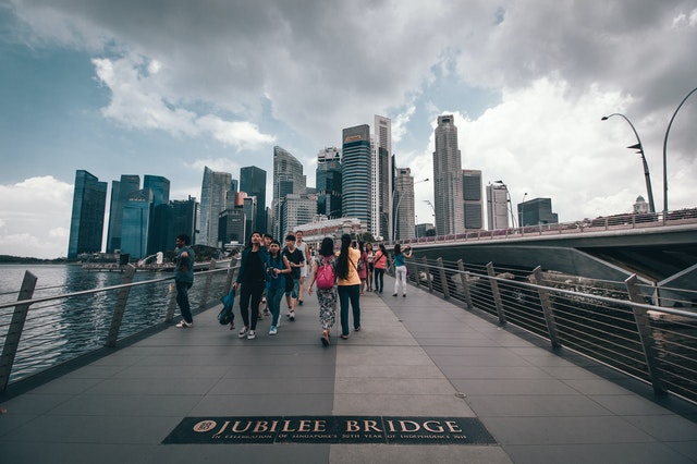 新加坡金禧橋 (Photo by Adhitya Andanu from Pexels)