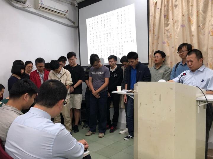 成都秋雨聖約教會2018年11月是聚會的圖片。(圖:FACEBOOK/秋雨聖約教會)