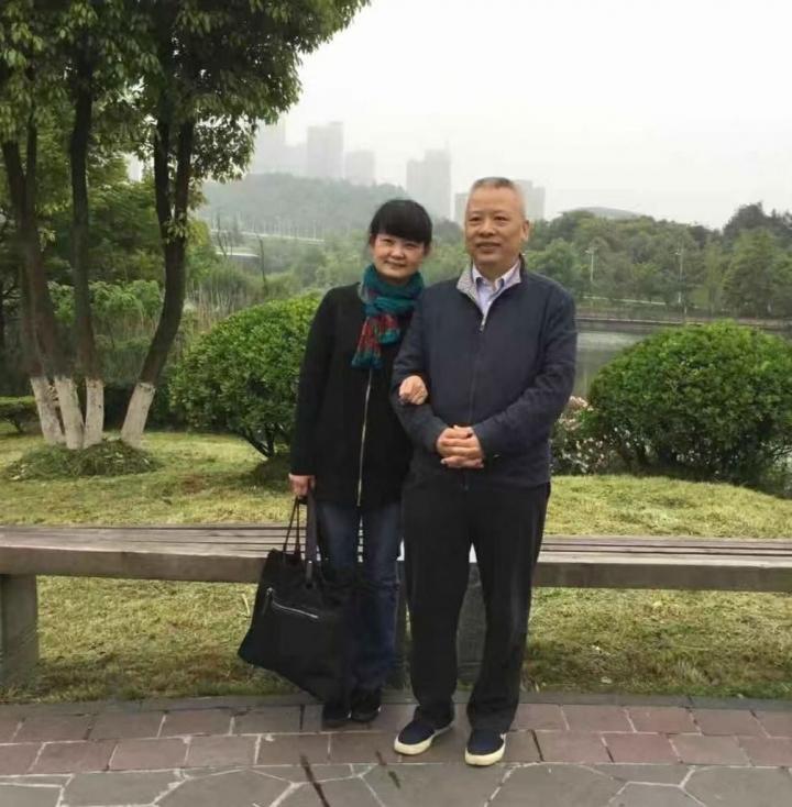 張春雷和妻子楊愛清(照片來自網絡/對華援助會)