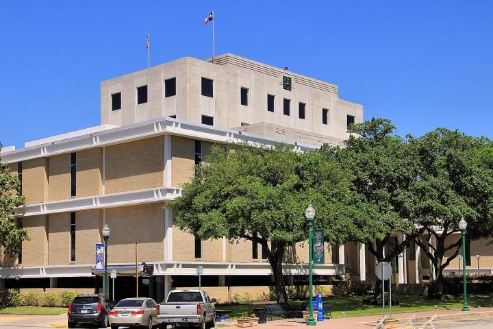 德克薩斯州蒙哥馬利郡法院。(圖:維基百科)