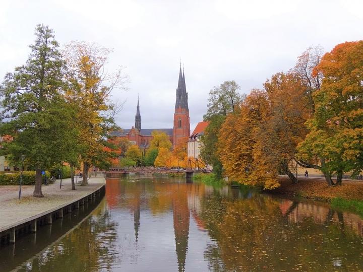 擁有大型教堂的烏普薩拉仍然是瑞典教會的所在地。(圖:維基百科)