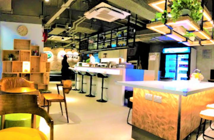 播道會同福九龍東堂ASK Café咖啡室。(圖:同福九龍東堂網)