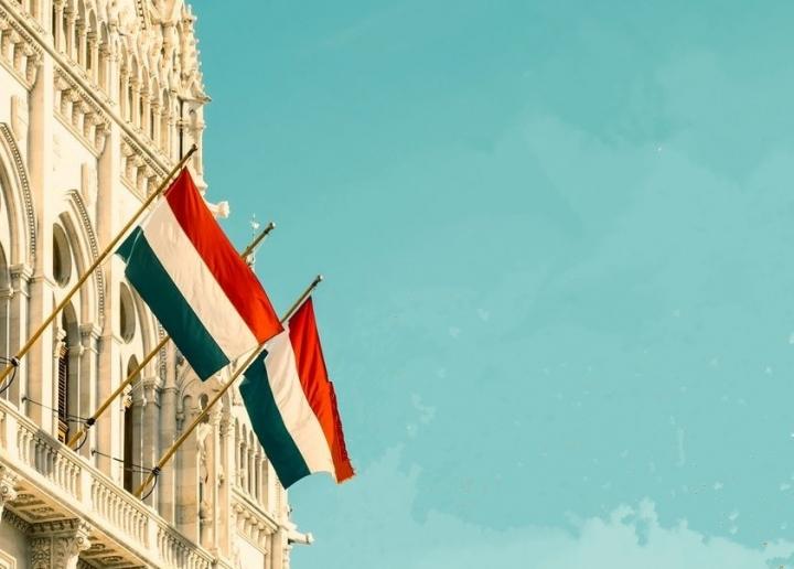 匈牙利國旗。(圖:Fidesz facebook)