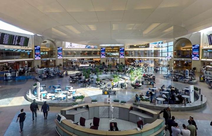 以色列本古里安國際機場。(圖:維基百科)