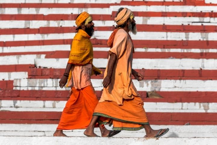 印度瓦拉那西市民。(圖:unsplash)
