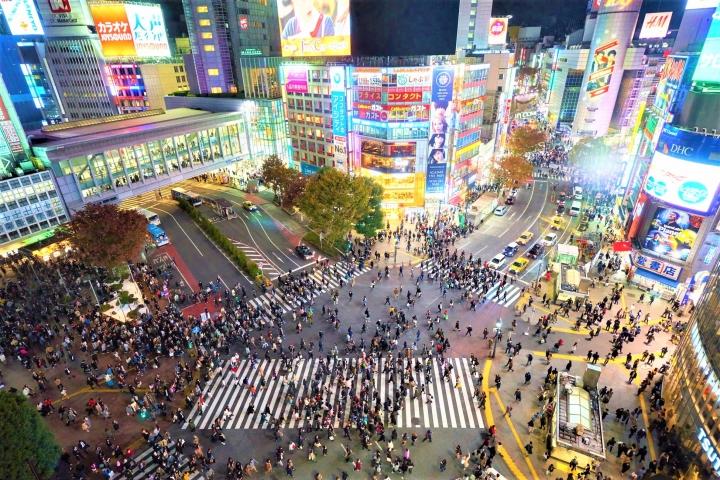 東京澀谷路口。(圖:unsplash)