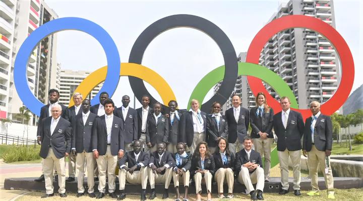 東京奧運難民隊。(圖:聯合國難民署[香港])