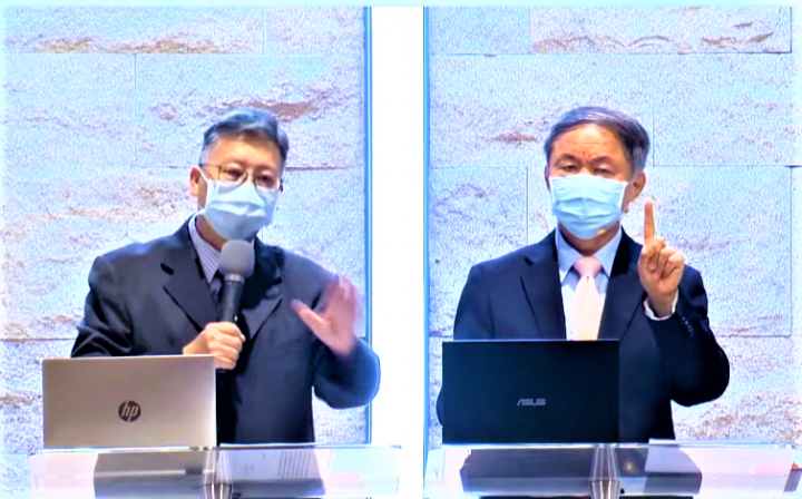 吳獻章教授[右]透過約瑟生平喻10個屬靈提醒。(圖: YouTube擷圖)