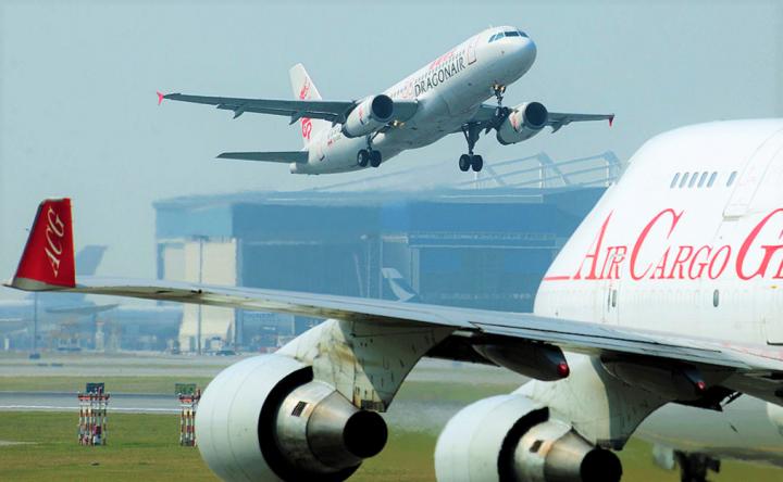 香港國際機場。(圖:Flickr)