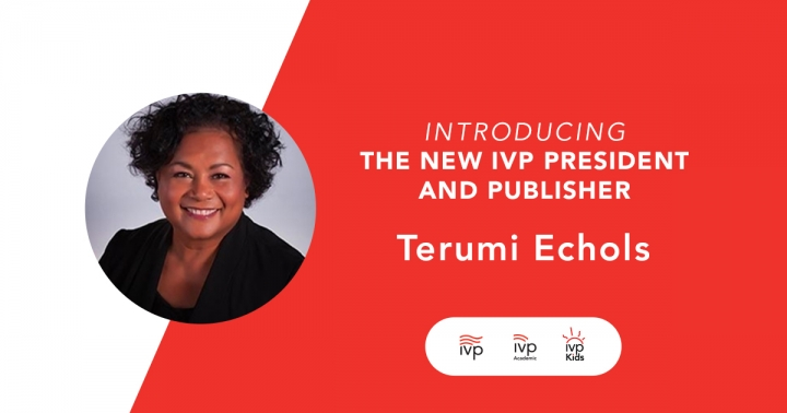 美國校園團契出版社公佈Terumi Echols為新任總裁。(圖:IVP twitter)