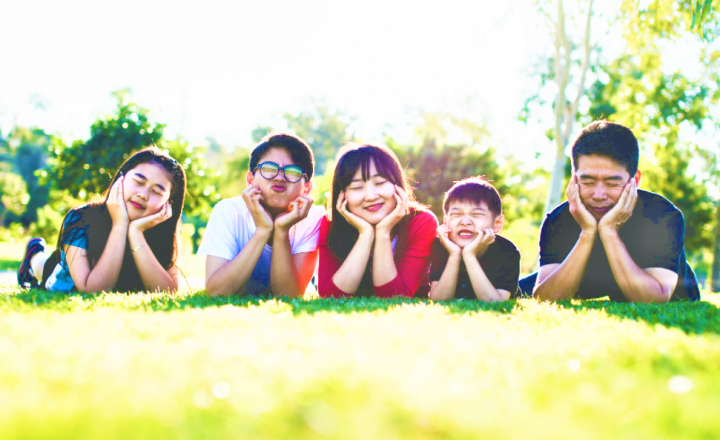 幸福家庭:神的話代替自以為是的想法。(圖:pexels)