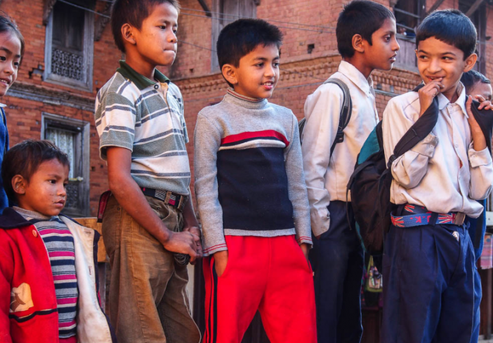 香港尼泊爾兒童。(圖:Flickr)