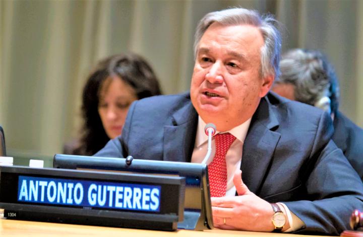 聯合國秘書長古特雷斯。(圖:Flickr)