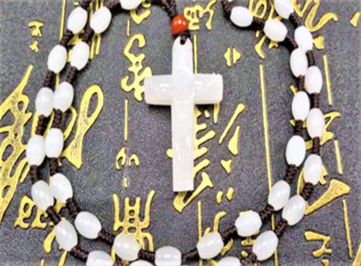 阿富汗十字架吊咀。(圖:網絡圖片)