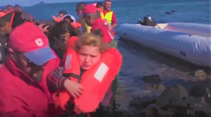 教宗呼籲世界關注移民難民群體。(圖:羅馬主場視頻擷圖)