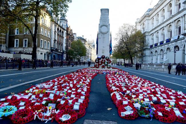 國殤紀念日紀念20世紀兩次世界大戰陣亡軍人與死去的平民。(圖:網絡圖片)