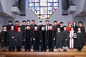 北美真道神學院第二屆畢業典禮於6月24日下午3時在洛杉磯國語浸信會隆重舉行。(圖:北美真道神學院) <br/>