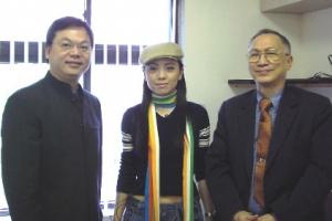 林以諾牧師、陳耀南教授及鄧萃雯一行三人一連十天的加拿大巡迴佈道,為加拿大帶來祝福。﹙圖:networkj﹚ <br/>