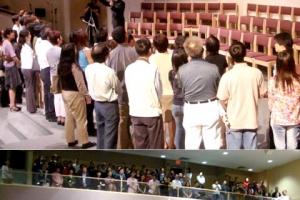 四地佈道會共8千多人參加,100多人決志。(圖:Network J) <br/>