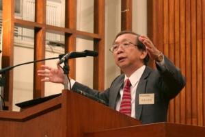 中國神學研究院副院長余達心牧師講道,他盼望藉馬可福音13章的講解,將歷史感和使命感重新帶回到基督徒中。  <br/>