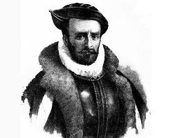船長Pedro Fernandez De Quiros畫像。(圖/維基百科) <br/>