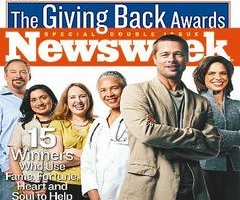 新一期的《新聞周刊》封面故事專題報導15位獲得「回饋社會獎」人士的故事。 <br/>