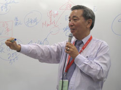 蔡元雲醫生對青少年事工的熱情,深深感染到每一位與會的弟兄姊妹。 <br/>