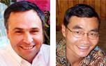 今年的講員是臺灣OMF代表Phil Nicholson和澳洲SIM事工的代表Omar Djoeandy(Source:ReachOut2006) <br/>