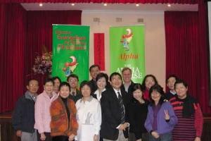 香港啟發課程辦事處舉辦的啟發訓練日巡迴澳紐四個主要城市,圖為奧克蘭華人啟發訓練日參加者合照。 <br/>