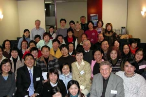 四地參與啟發訓練日的牧者約共100人,來自約50家華人教會。(圖:啟發) <br/>
