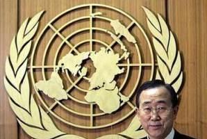 聯合國秘書長潘基文。(資料圖片) <br/>